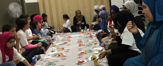 Itikaf night for Om Al-Qura girls at Ottawa mosque