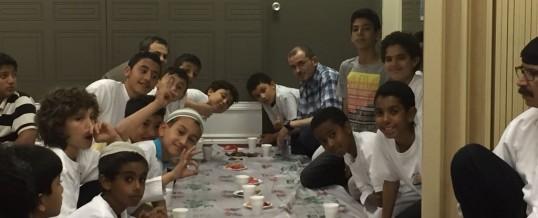 Itikaf night for boys at Ottawa Mosque