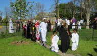 Om Al-Qura School outdoors Hajj 2014