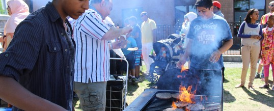 BBQ at Hintonburg park 2013